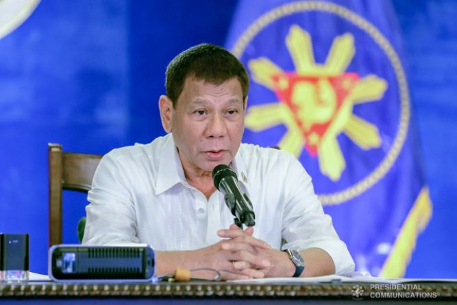 Duterte recalls order to bring back face-to-face classes