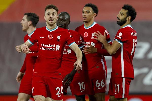 تشكيلة ليفربول الرسمية لمواجهة برايتون اليوم السبت في الدوري الانجليزي