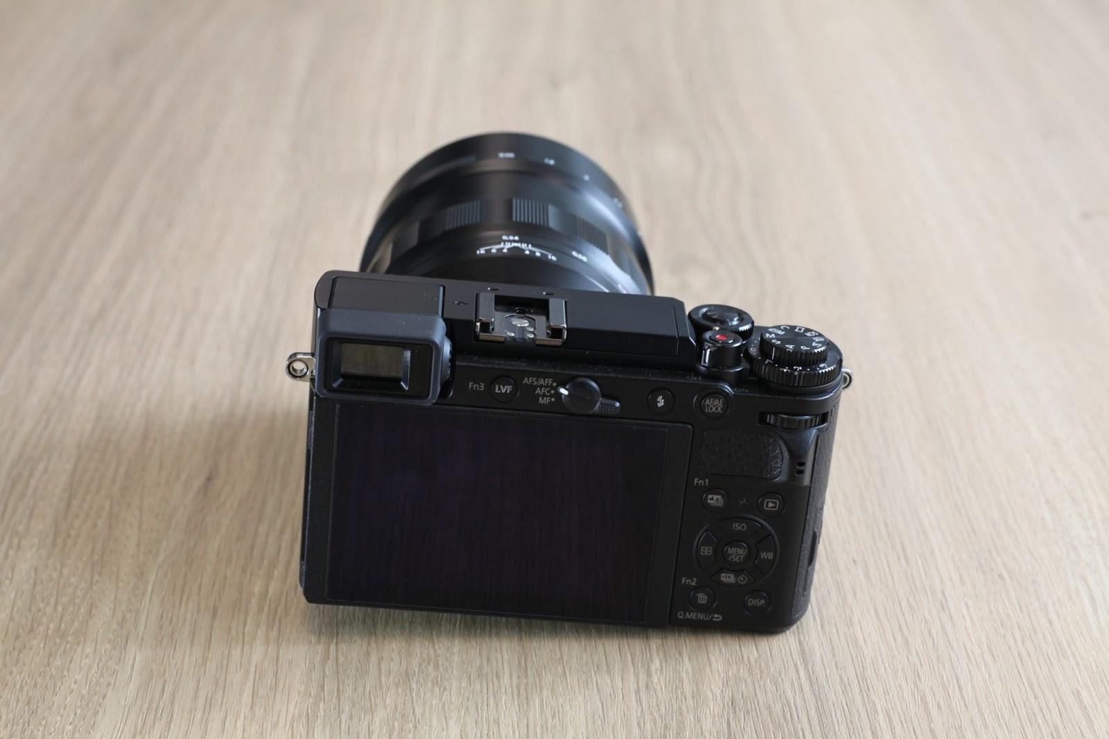 Voigtlander Nokton 60mm f/0.95 и Panasonic Lumix GX7 Mark III (GX9)