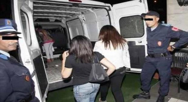 عاجل: توقيف شابتين رفقة شخصين أجنبيين بشقة مفروشة بأكادير