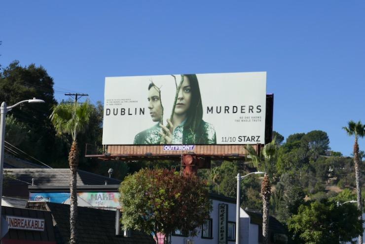 Dublin Murders Starz series billboard
