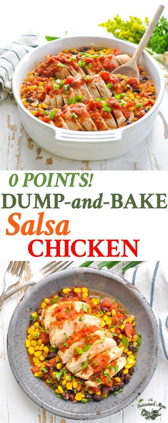 ZERO POINT DUMP-AND-BAKE SALSA CHICKEN