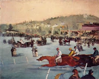 Edouard Manet: Races at the Bois de Boulogne