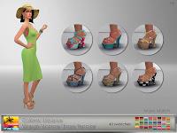 Colores Urbanos Marylin Monroe Shoes Recolor
