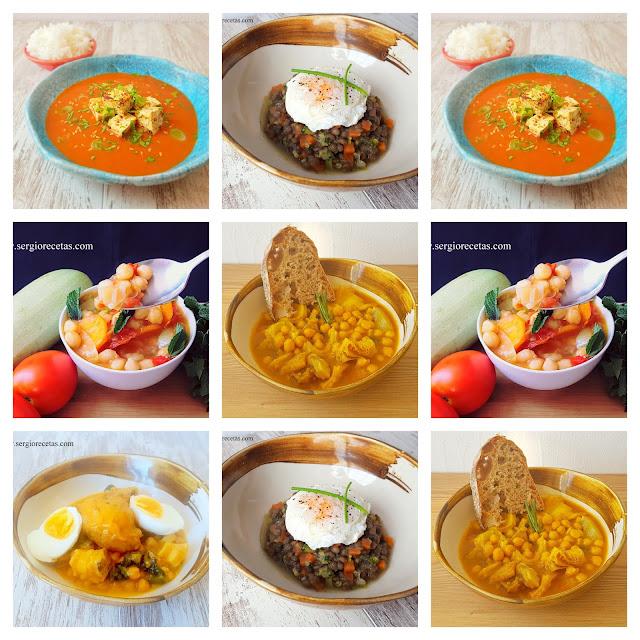 5 recetas de cuchara saludables. Ideas sanas para una dieta equilibrada