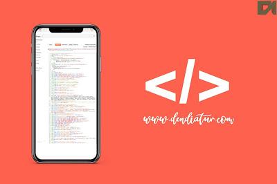 Cara edit html blog dengan apllikasi android text editor