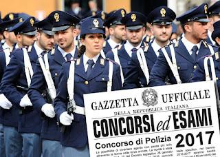 Concorso 1148 Allievi Agenti della Polizia di Stato