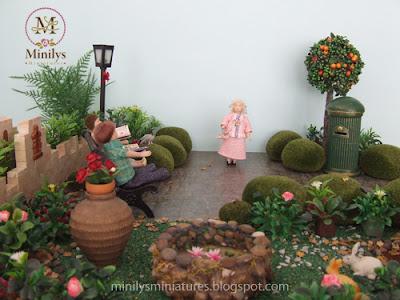 """minilys miniatures"" ""garden"" ""park"" 1:12 farola"