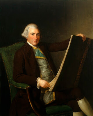 Robert Adam attributed to George Willison  Oil on canvas c1770-1774 © NPG 29531