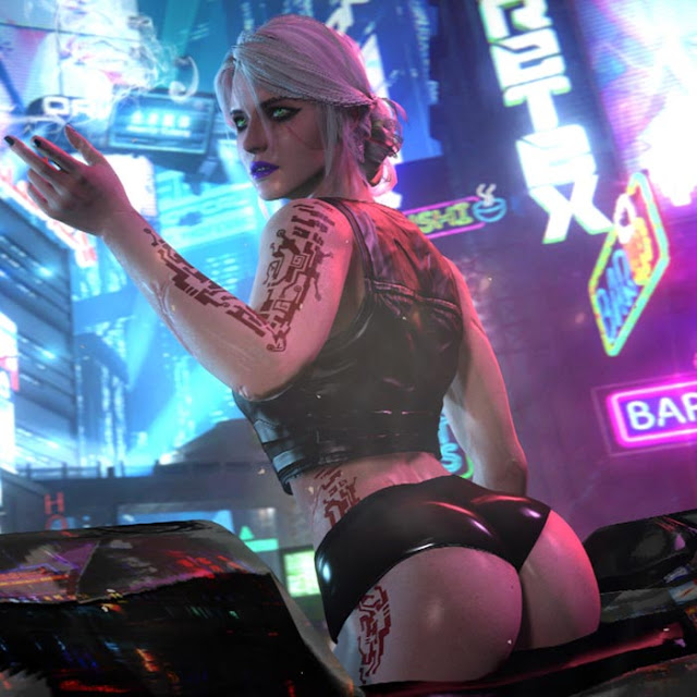 Cyberpunk Ciri Wallpaper Engine