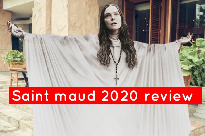 Saint maud 2020 review horror movie brand new psychological horror thriller .