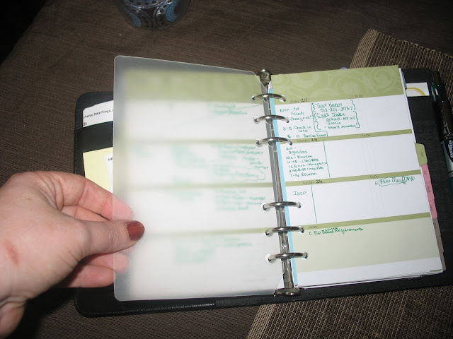 paper, planner, ring bound planner, tabs, Franklin Covey, Filofax, Philofaxy, dashboard, projects, tasks,