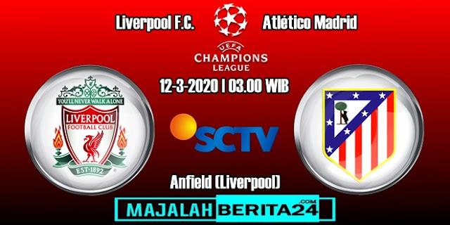 Prediksi Liverpool vs Atletico Madrid