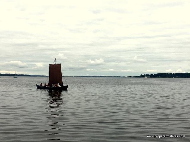 Los vikingos de Roskilde Dinamarca