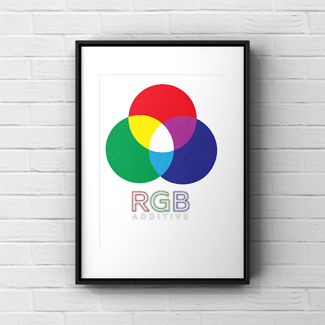 RGB Colour Model art by Mark Taylor