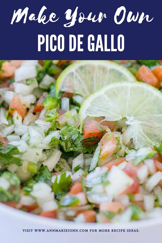 Make Your Own Pico de Gallo