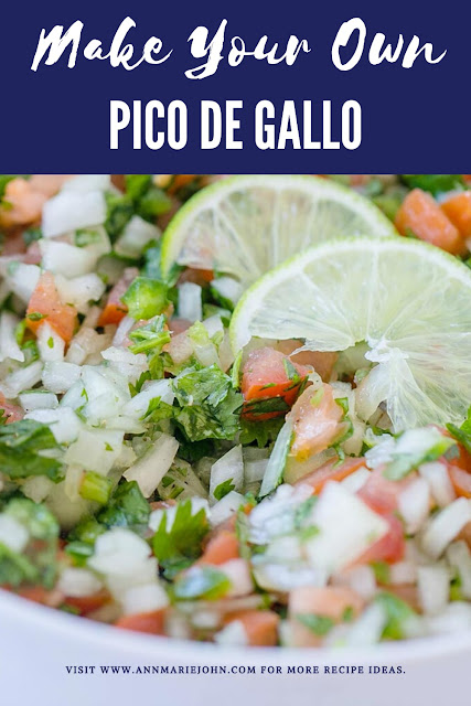 Make Your Own Pico de Gallo