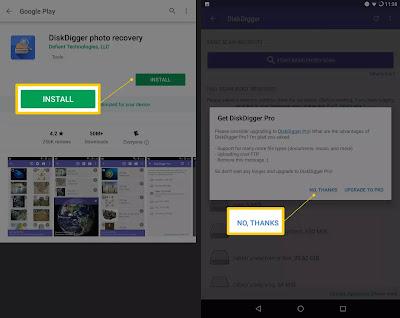 طريقة إسترجاع الصور و الفيديو المحذوفة من هاتفك حتى بعد الفورمات