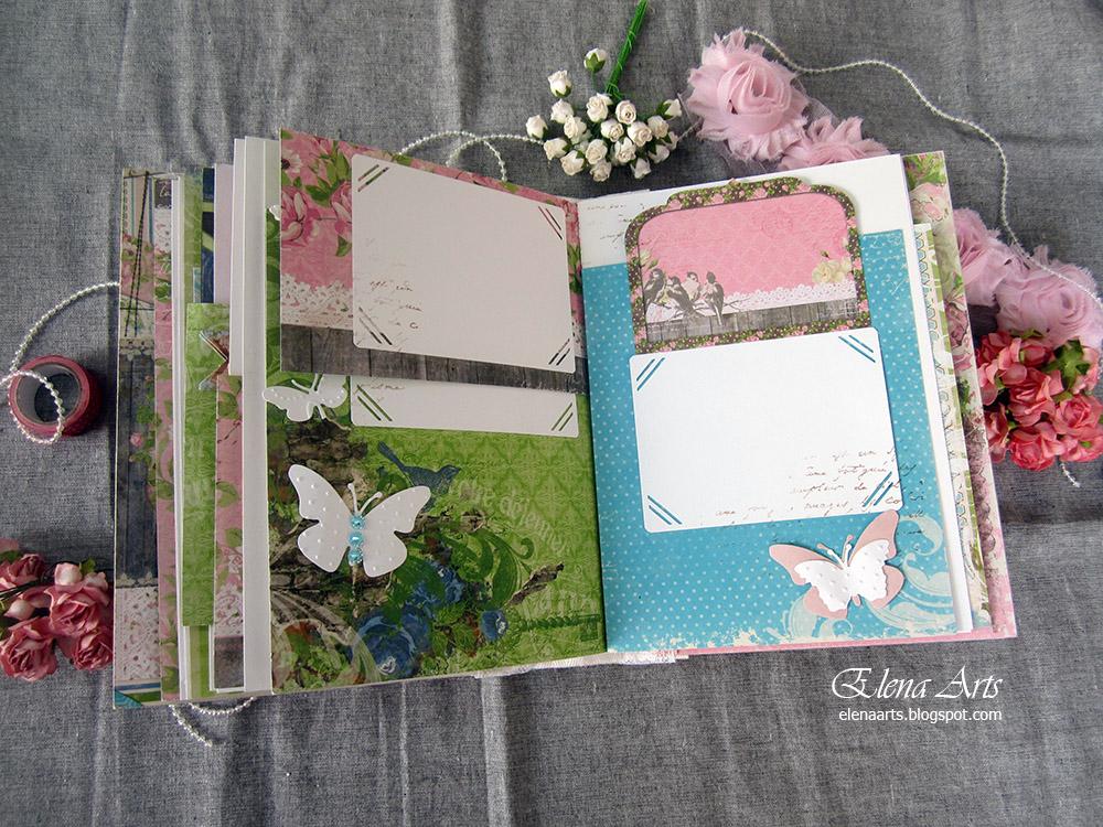 Ideas para hacer un album de fotos original - Como hacer un album casero ...