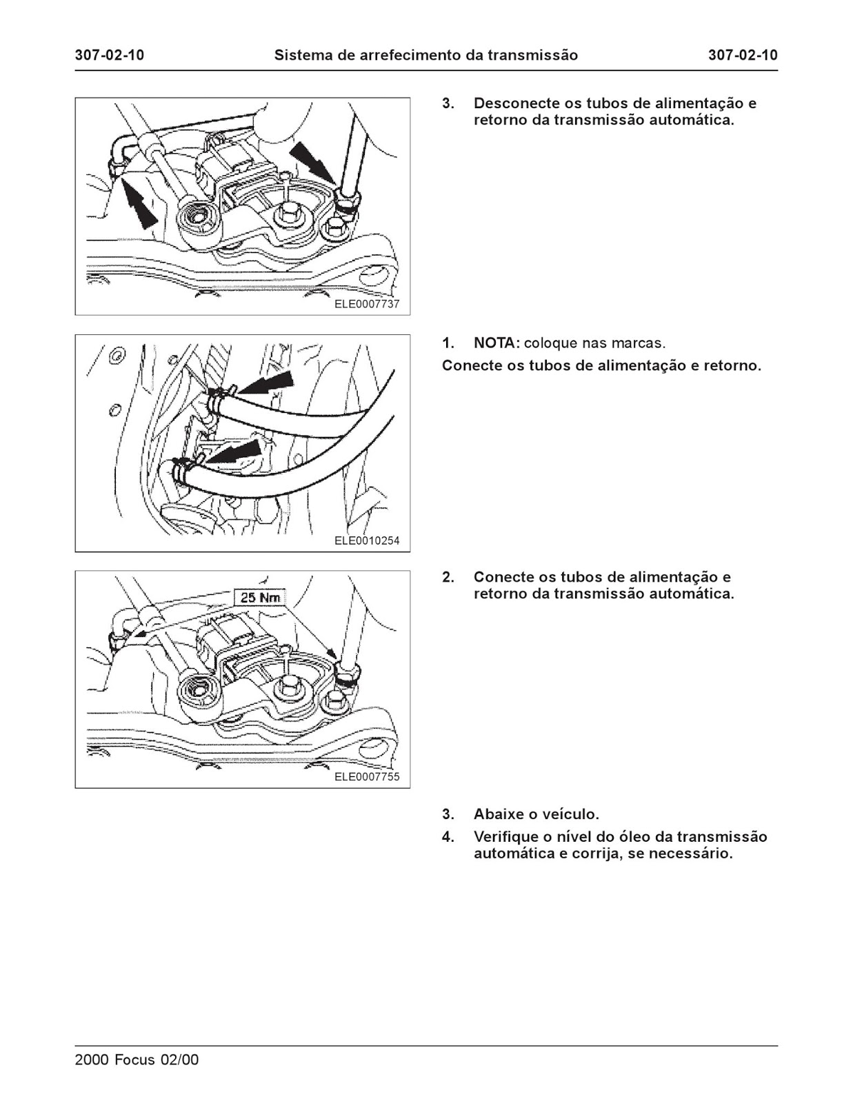 MANUAIS DO PROPRIETÁRIO: MANUAL DE REPARAÇÃO DO FORD FOCUS