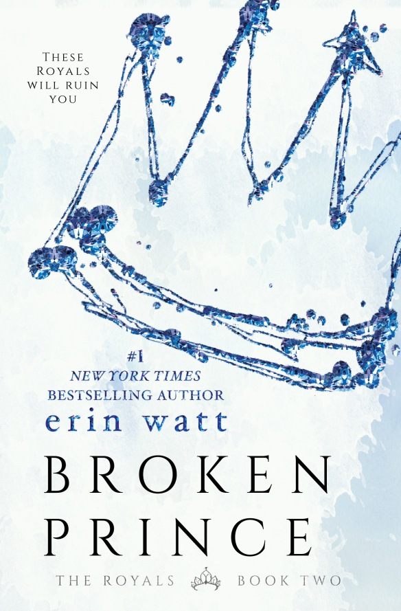 Broken prince erin watt book cover