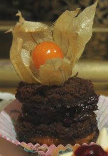 Chocolate roulade ganache gluten-free organic recipe