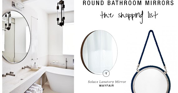 10 Best Round Bathroom Mirrors My Paradissi