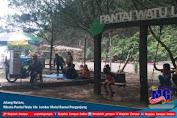 Jelang Nataru, Wisata Watu Ulo  Jember Mulai Ramai Pengunjung