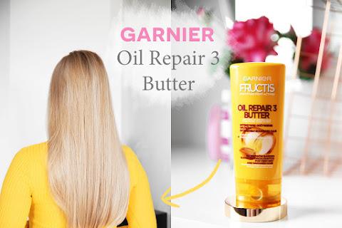 Odżywka Garnier Oil Repair 3 Butter - recenzja  - czytaj dalej »