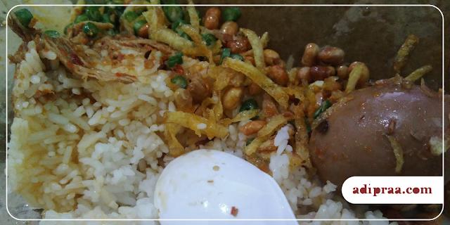 Isian Bungkus Nasi Balap Puyung Gejayan | adipraa.com