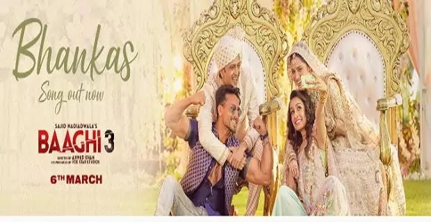 भंकस Bhankas Lyrics in hindi-Baaghi3