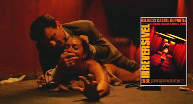 filmes perturbadores, filmes chocantes, filmes macabros, filmes bizarros, irreversível filme