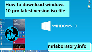 How to download windows 10 pro latest version iso file - windows tricks