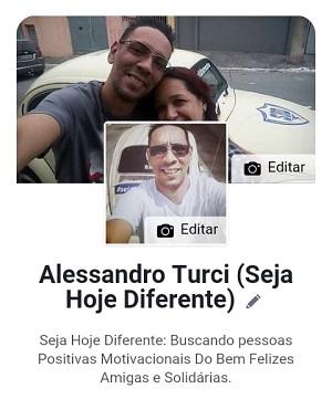 Alessandro Turci e Solange do Seja Hoje Diferente e Fusquinha do Bem