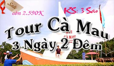 Tour Du Lich Ca Mau 3 Ngay 2 Dem