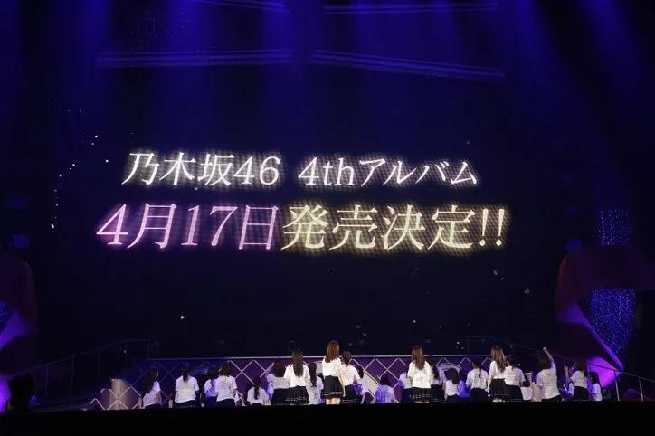 album original ke-4 dari Nogizaka 46 akan dirilis pada 17 April 2019 mendatang.
