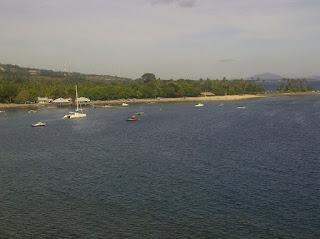 view Pantai Senggigi