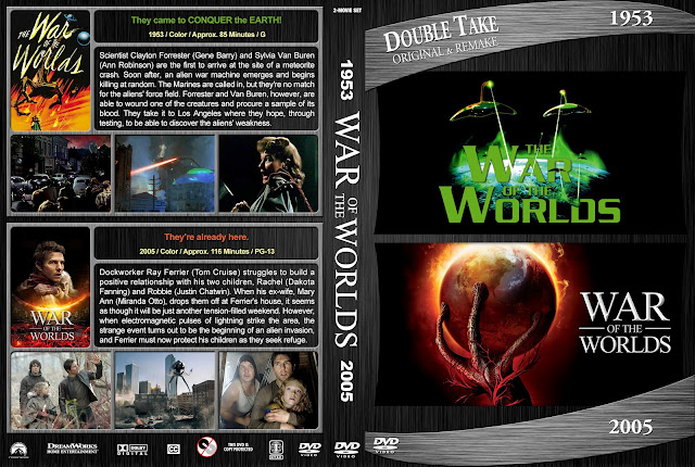 War Of The Worlds Double Feature DVD Cover
