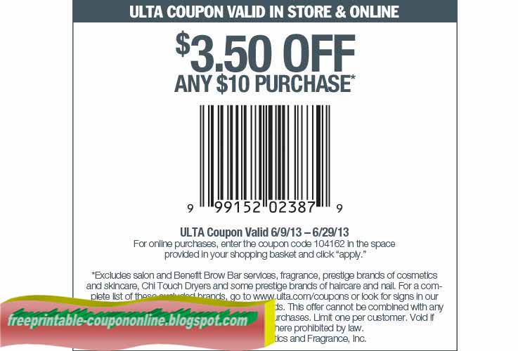 Limited coupon codes