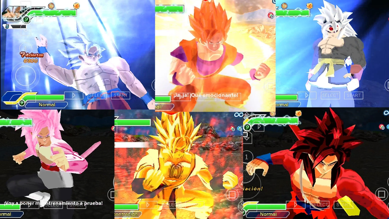 Dragon Ball Super Vs Heroes DBZ TTT MOD