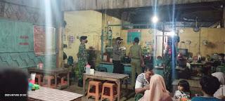 Patroli Gabungan Penertiban PPKM Darurat di Wilayah Welahan