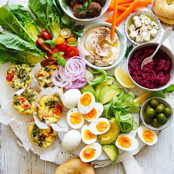 Middle Eastern Vegetarian Share Platter