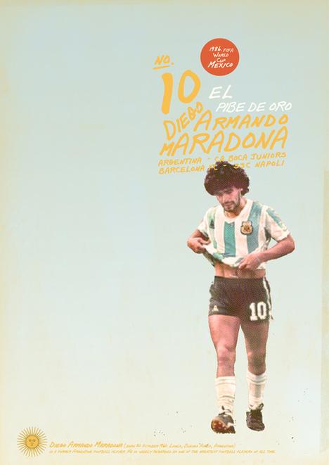 Vintage Football Poster 92