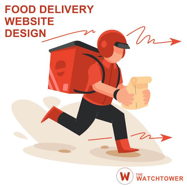 Food Delivery Website Design