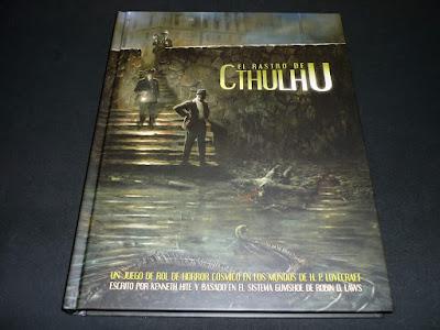 Reseña: El Rastro de Cthulhu, libro de reglas (EDGE)