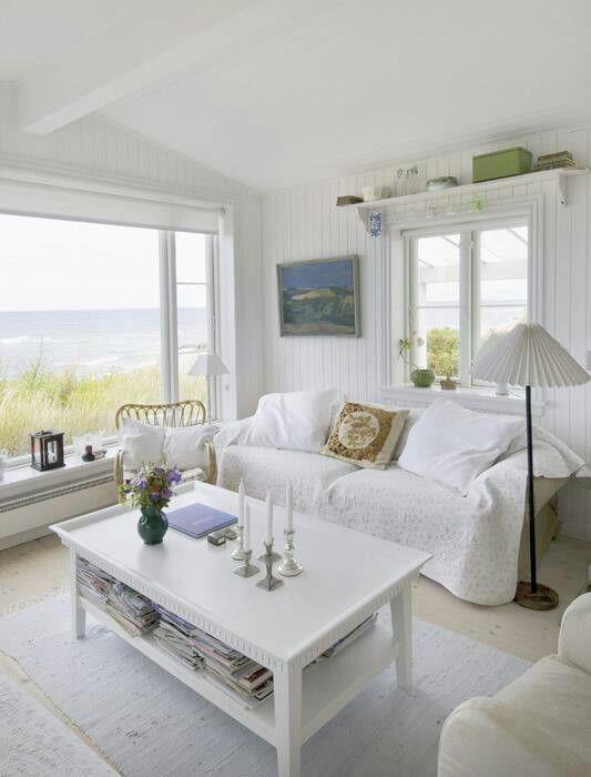 coastal style shabby beach chic decorating ideas. Black Bedroom Furniture Sets. Home Design Ideas
