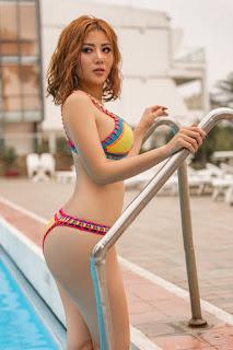 Nóng bỏng mắt với loạt ảnh bikini của diễn viên Thanh Hương