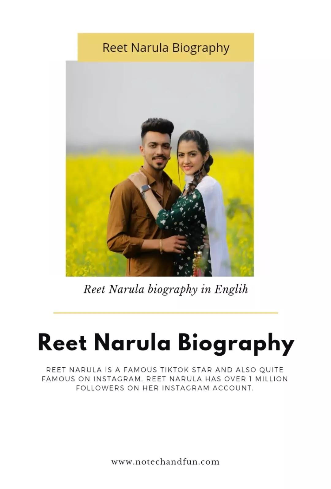 Reet Narula biography