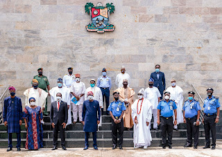Sanwo-Olu inaugurates community policing in Lagos
