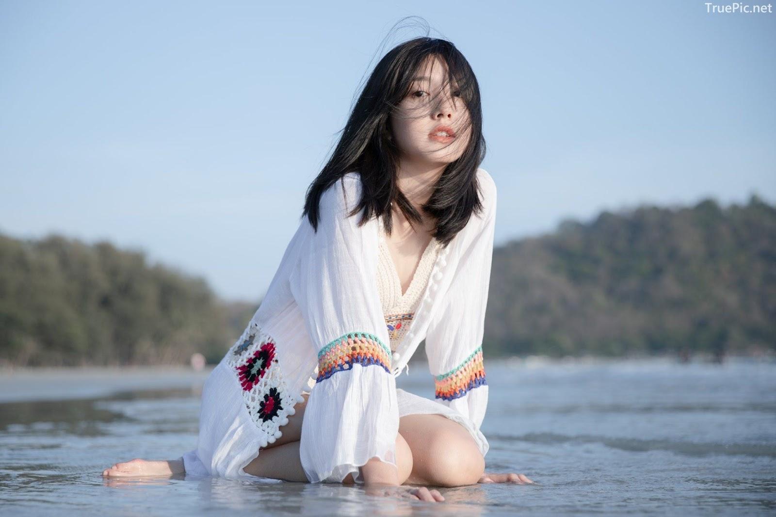 Thailand hot girl Purewarin Kosiriwalanon - Pure beauty and lovely with wool bikini - Picture 6